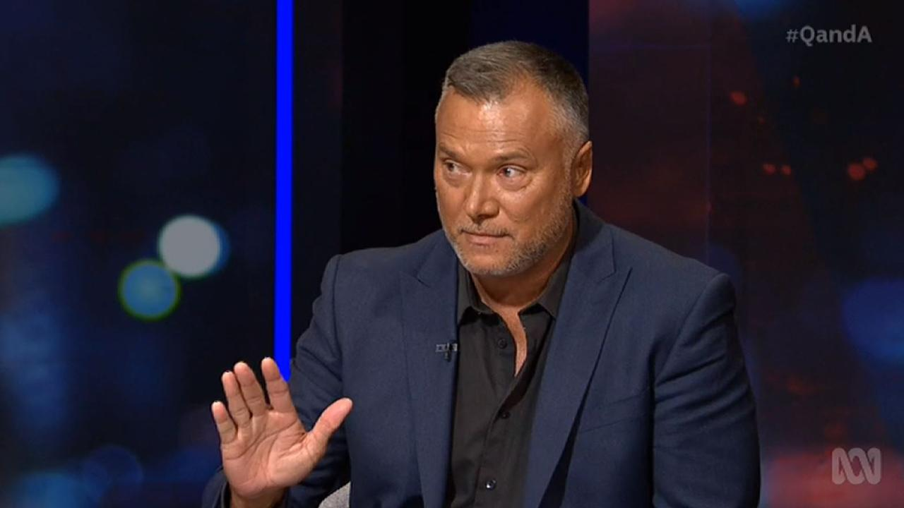 Stan Grant on Q&A.