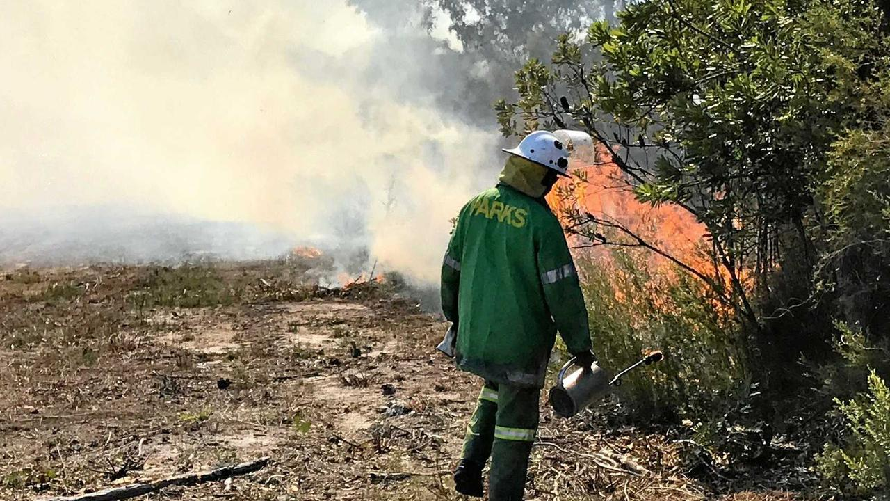 National park burn-offs are planned for Cooloola today.