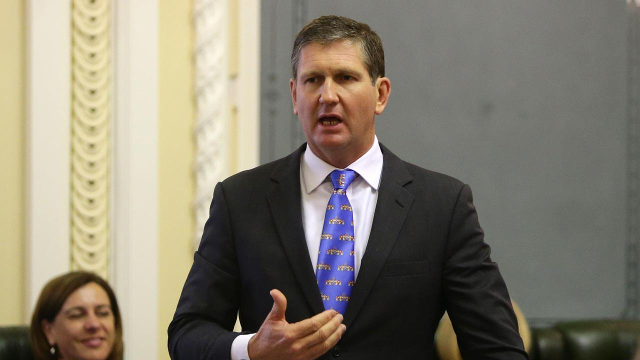 Lawrence Springborg has been dumped from the party's executive in a move which shocked senior party members. Picture: Steve Pohlner