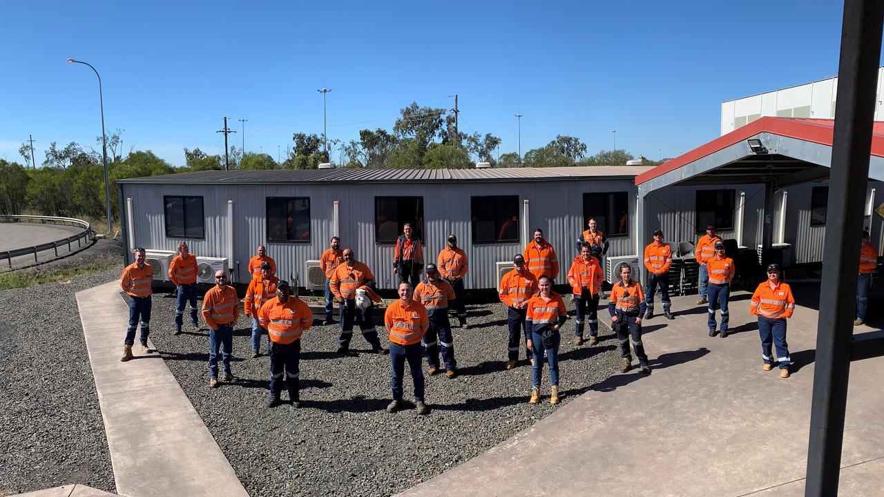 Trainees from Caval Ridge Mine.