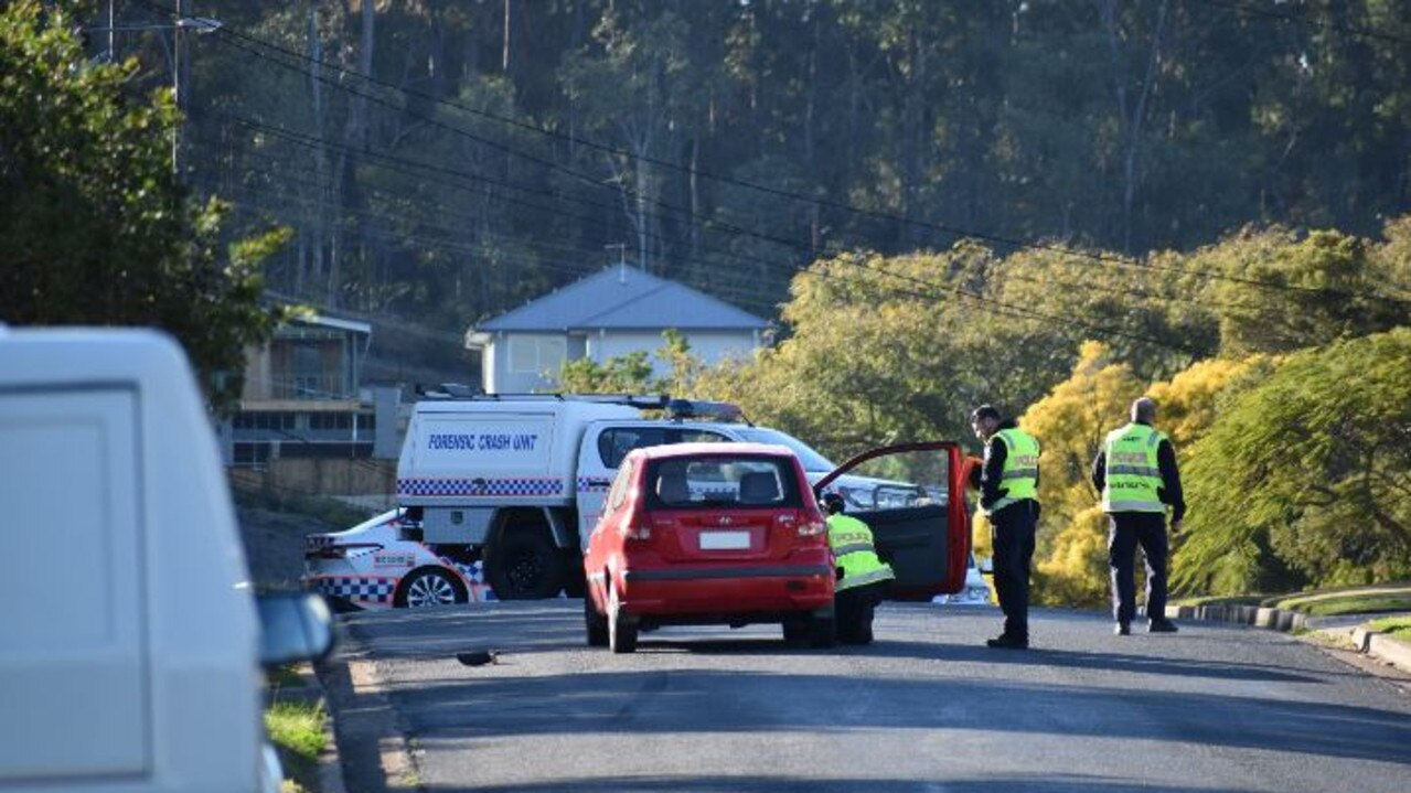 A man has been rushed to hospital in a critical condition after he was hit by a car in Redbank Plains.
