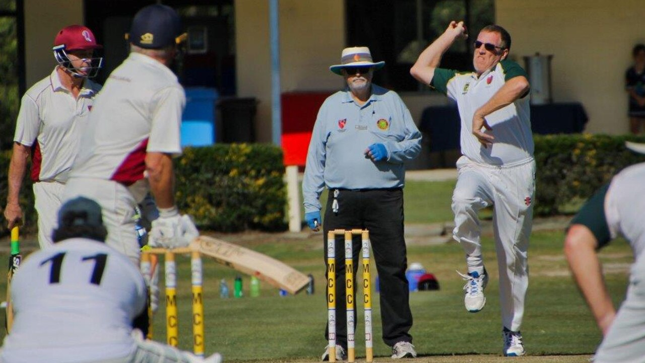 Lockyer/Ipswich cricketer Ray Zahnow bowled with good pace in his team's latest Division 1 victory at the Sunshine Coast.