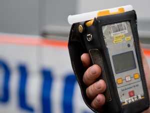 39yo drink driver crashes head-on into tree, writes car off