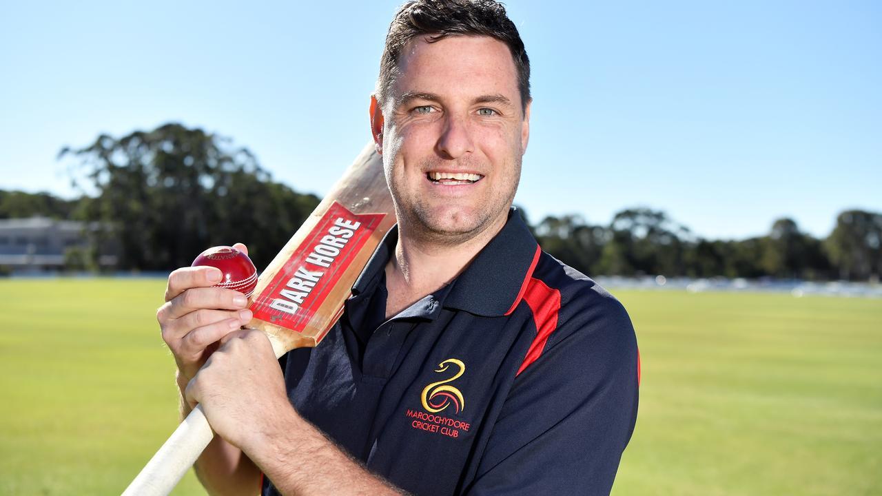 CRICKET: Adam Thornton named in team of decade. Photo Patrick Woods / Sunshine Coast Daily.