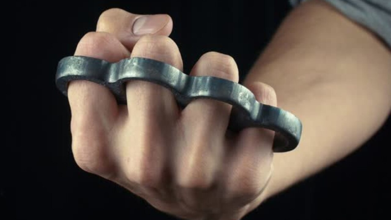 The woman confiscated a homemade knuckleduster off her son, and forgot it was in her jacket when she went to enter the court. Picture: File photo