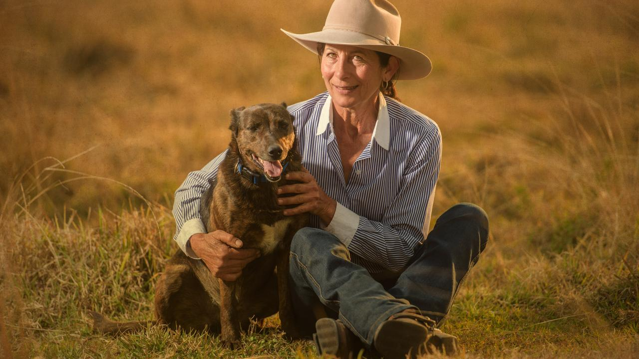 Glenda Rogan of Copmanhurst with her kelpie Jess, who are entered into the national 2018 Cobber Challenge for working dogs.