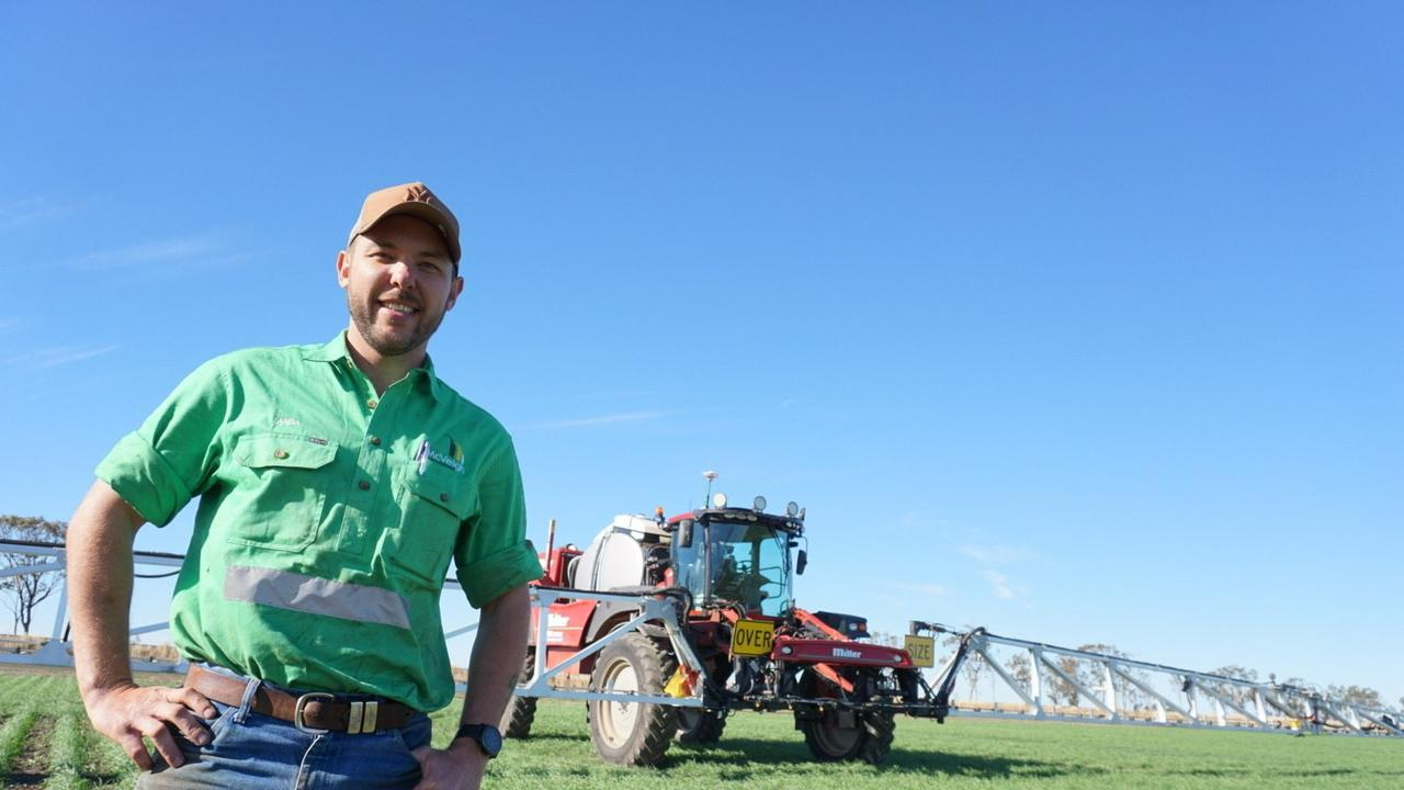 WINNER: Dalby cotton farmer Alexander Stephens credits his burgeoning career success so far to 'right time, right place', but a recent accolade suggests otherwise.