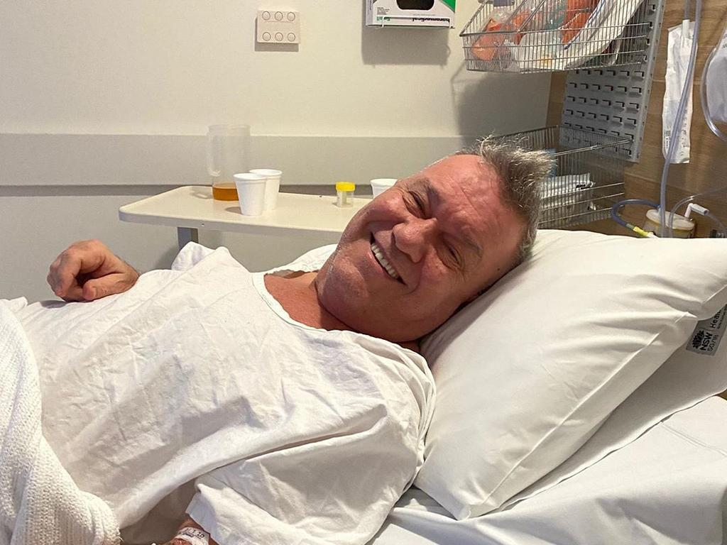 Jimmy Barnes spent Monday night in the emergency department at St Vincent's Hospital.