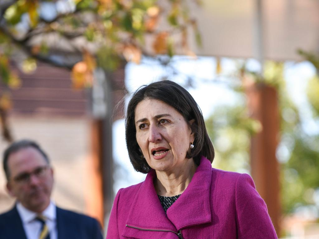 Premier Gladys Berejiklian said the next few weeks were critical in getting the virus outbreak under control. Picture: Flavio Brancaleone/NCA NewsWire