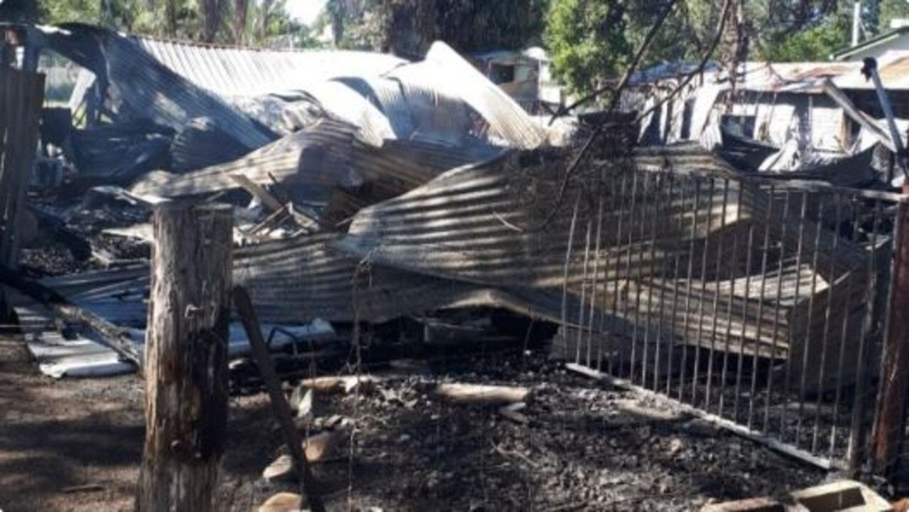 THE Boyne Valley Community has been left in shock after an old Nagoorin post office was burnt to the ground over the weekend.