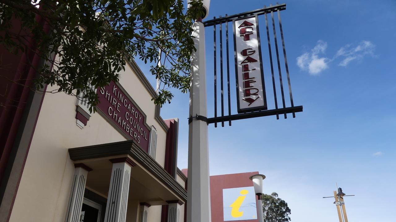 Galleries and museum's in the South Burnett are welcoming visitors back after months of lockdown. Photo: Holly Cormack.