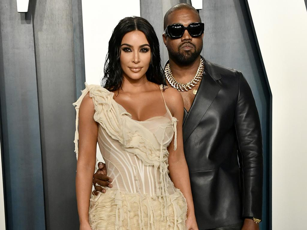 "Kanye West tweeted that his wife Kim Kardashian tried to have him ""locked up"". Picture: Getty Images"