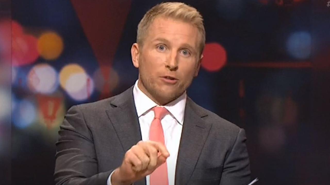 Q&A host Hamish Macdonald. Picture: ABC