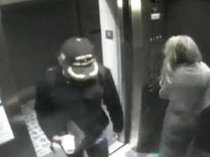 CCTV shows stars in 'discreet' moment