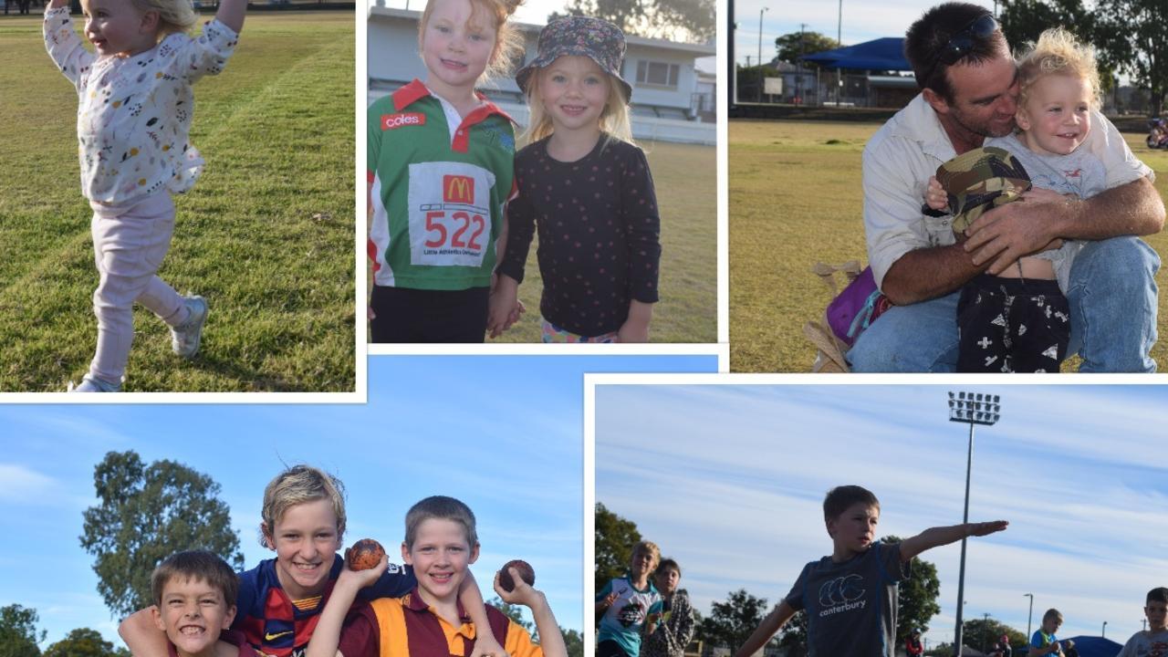 FAMILY FUN IN THE SUN: Little Athletics Chinchilla. Pic: Peta McEachern