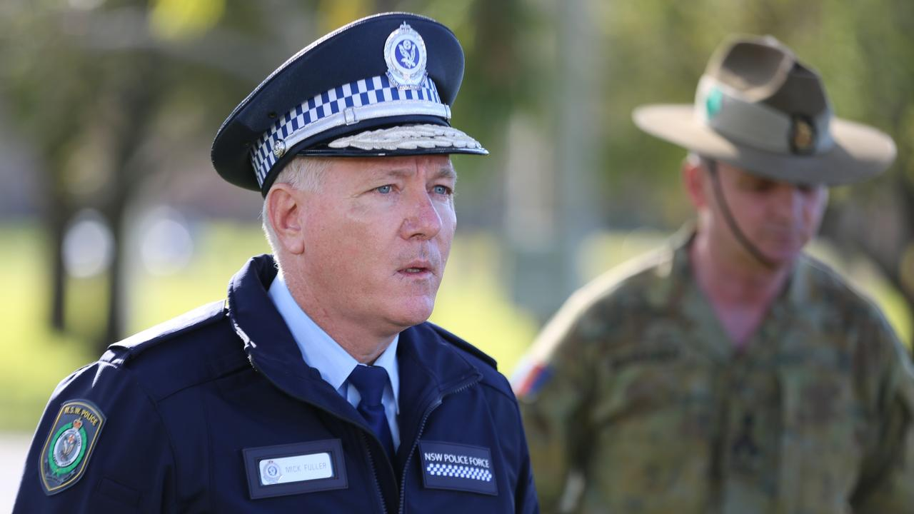 NSW Police Commissioner Mick Fuller has threatened fines for those who breach health orders.