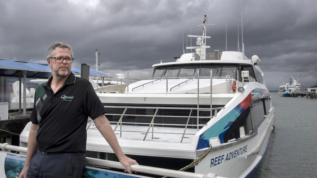 Quicksilver Group Managing Director, Tony Baker, whose company is massively invested in Great Barrier Reef tourism, says industry will continue to struggle until international tourists return. Picture: Brian Cassey