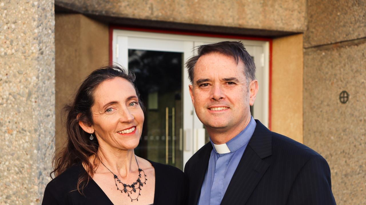 Peter and Virginia Grice. Peter has been announced the 13th Bishop of the Archdiocese of Rockhampton.