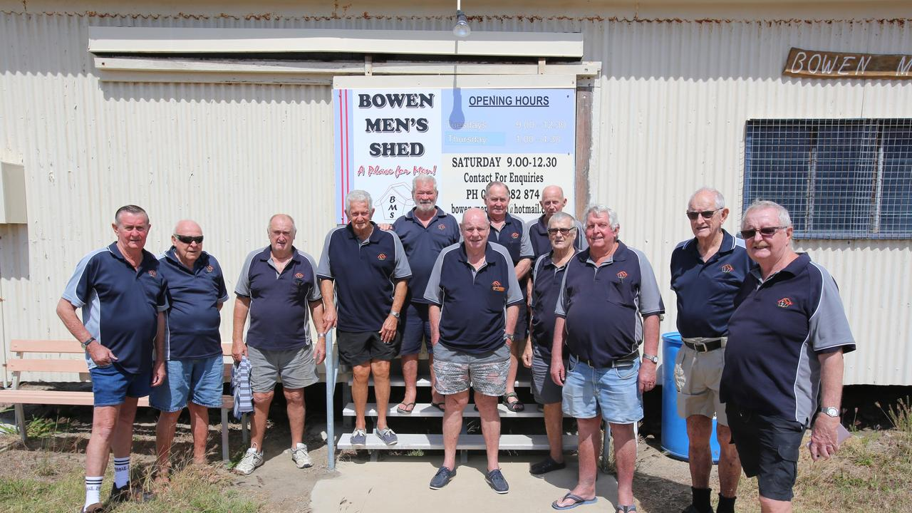 A decision on a donation to the Bowen Men's Shed will be made during the council meeting today.