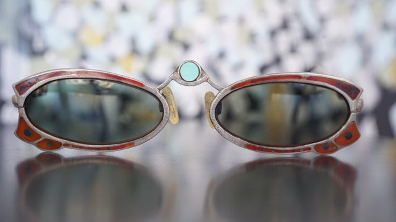 Bondi's bespoke jeweller Zuzy Noy is exhibiting handcrafted silver sea creature collars, bold brass bathing beauty brooches and outrageous one-off silver sunnies set with turquoise, ebony and mother-of-pearl for two weeks at Ninbella in Bangalow.