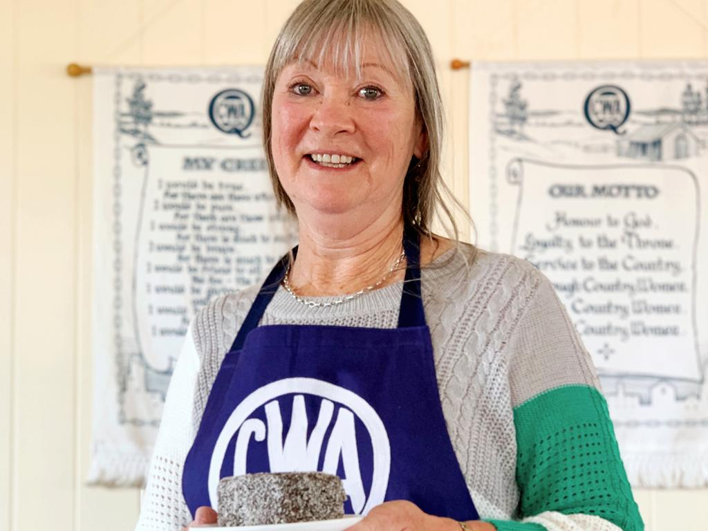 A QUEENSLAND FAVOURITE: Sandi Blinco from Allora QCWA says while the lamington is a popular choice, she is more partial to scones.