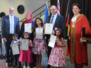 IN PICTURES: Meet Fraser Coast's newest Australian citizens