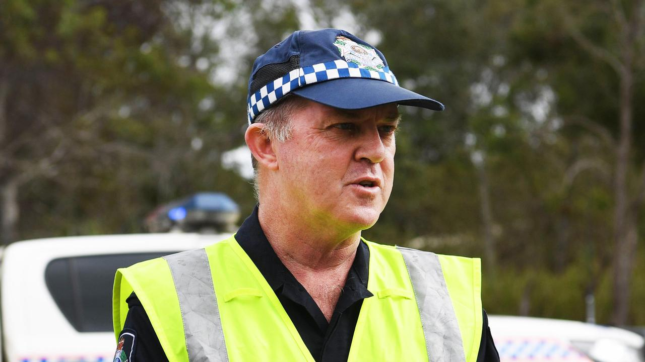Fatal – Wide Bay Burnett Forensic Crash Unit Sergeant Glenn Rusten. Photo: Cody Fox