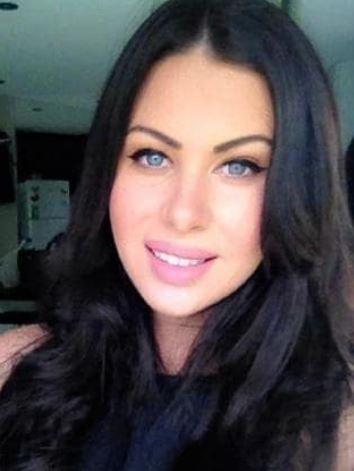 Michael Ibrahim's wife Caitlin Hall.