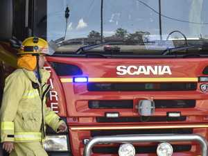 Crews rush to scene of North Burnett house fire