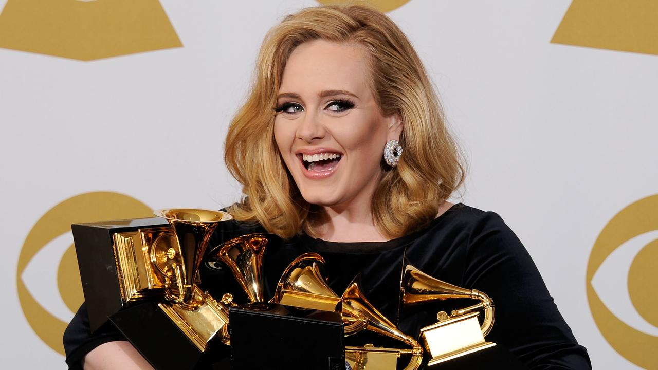 "Even Adele's 2010 hit Rolling In The Deep is considered an ""oldie"" now. Picture: Getty Images"