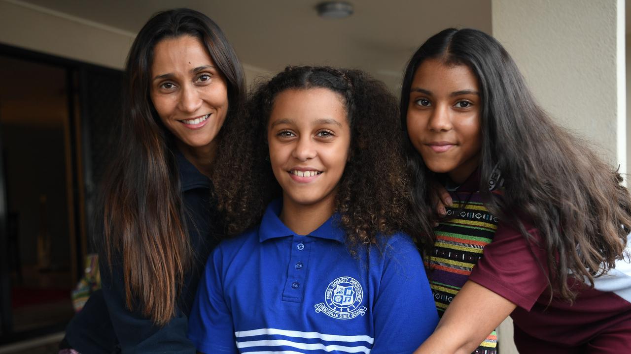 Jackie, Jayda and Amber Kolbe. Picture: Jann Houley