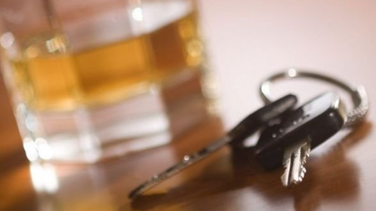 DRINK DRIVE: A young man was upset with his minimum disqualification.