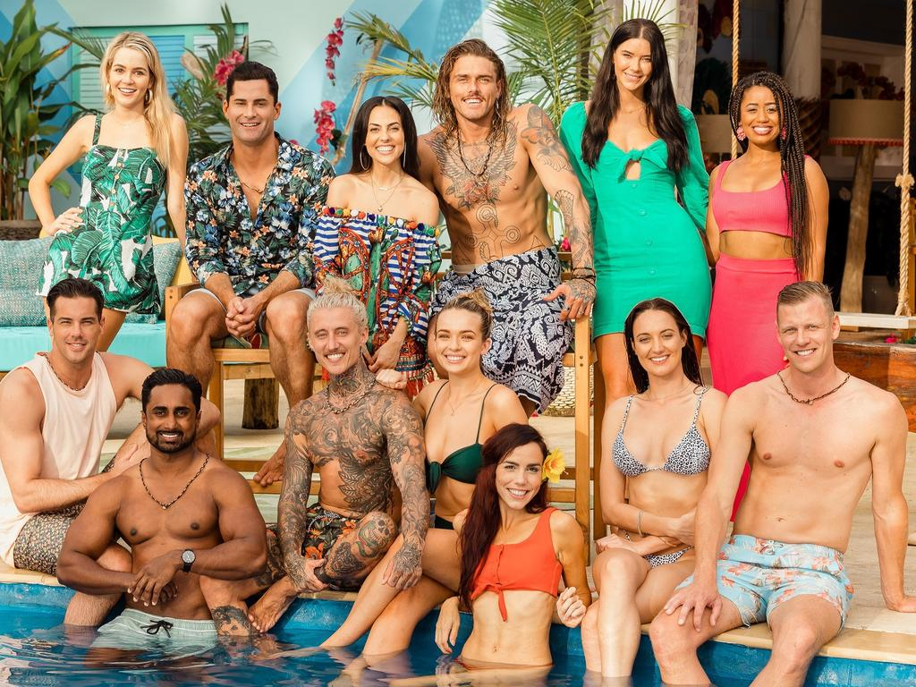 The Bachelor In Paradise season three cast. Picture: supplied