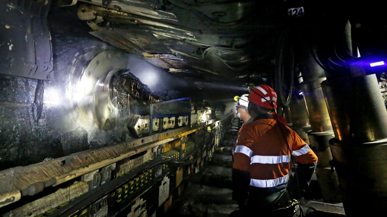 BHP Billiton Mitsubishi Alliance (BMA) Broadmeadow underground coal mine.