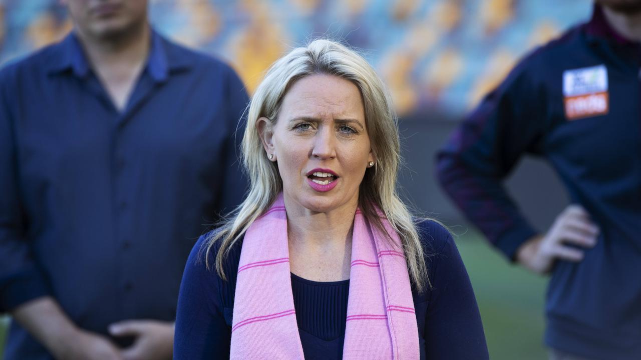 Minister for State Development, Tourism and Innovation, Kate Jones (News Corp/Attila Csaszar)