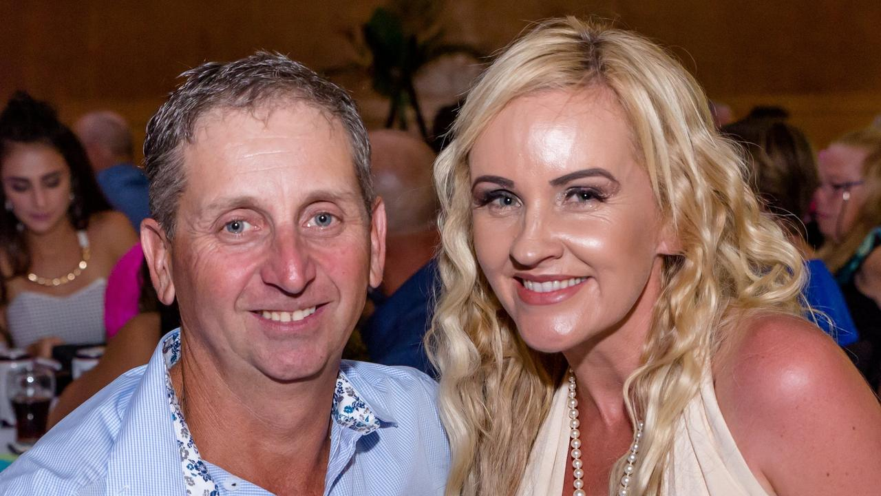 Creditors are unlikely to see a cent from the collapse of Stirling Homes and PRB Constructions which were directed by Peter Bazzan, pictured here with ex-wife Karen Bazzan who agreed to pay $75,000 for her release from and settlement with the company in February.