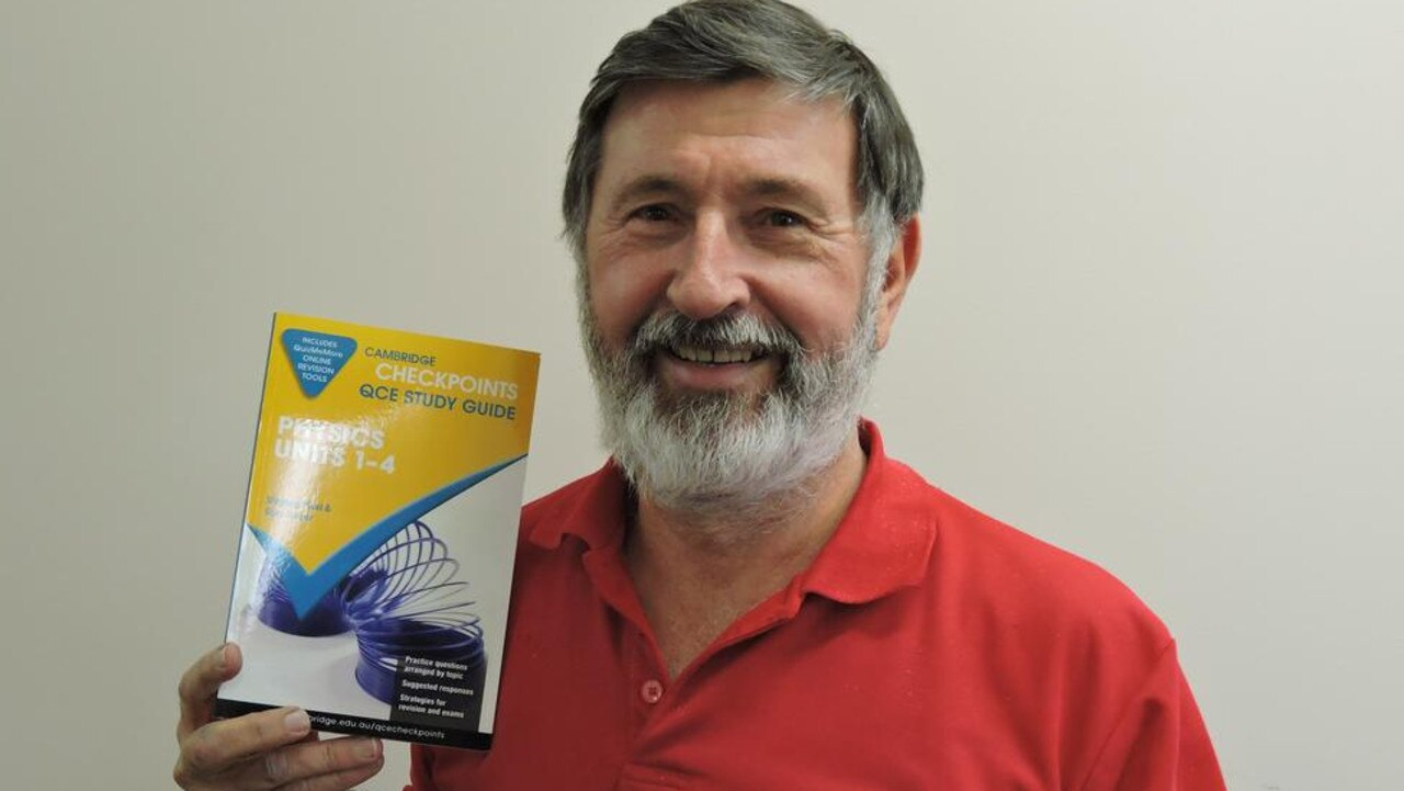 Dr Gary Turner with his new study guide.