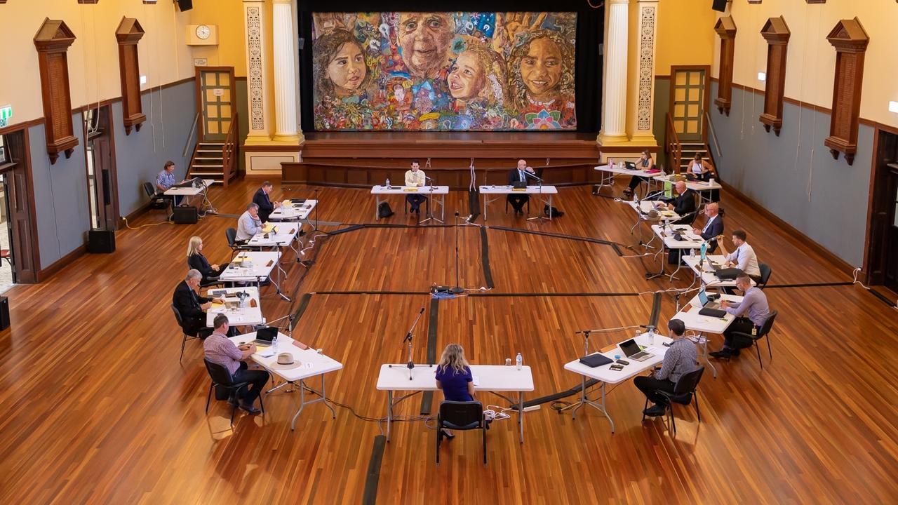The Fraser Coast Regional Council meeting is on this morning at Maryborough City Hall.