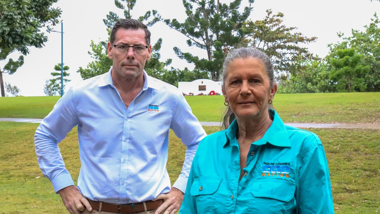 One Nation candidates for Thuringowa and Whitsunday Troy Thompson and Deb Lawson.