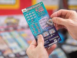 Mum 'overwhelmed' by lucky $25k scratchie win