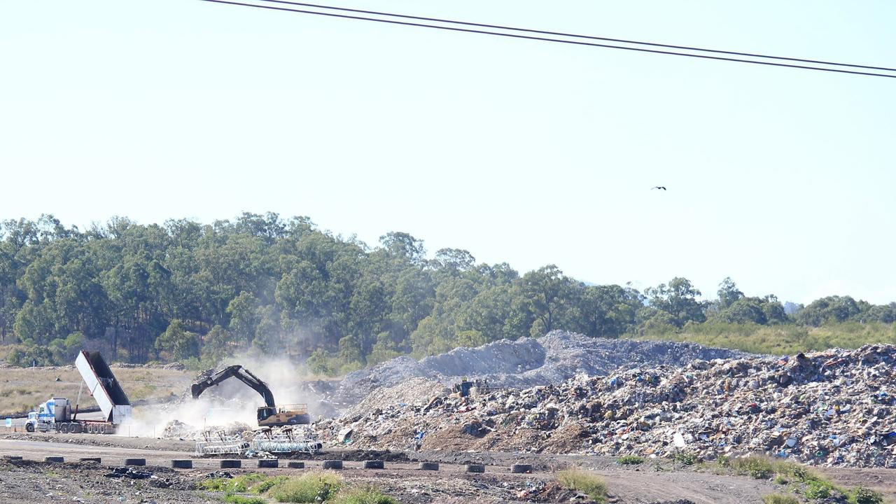 Residents say Cleanaway has been overfilling at its New Chum site.