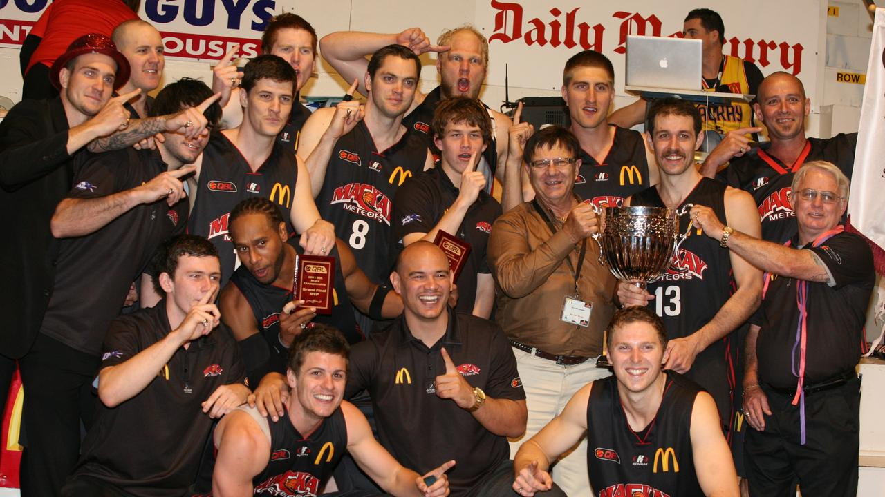 The victorious Mackay Meteors. Photo Lee Constable / Daily Mercury