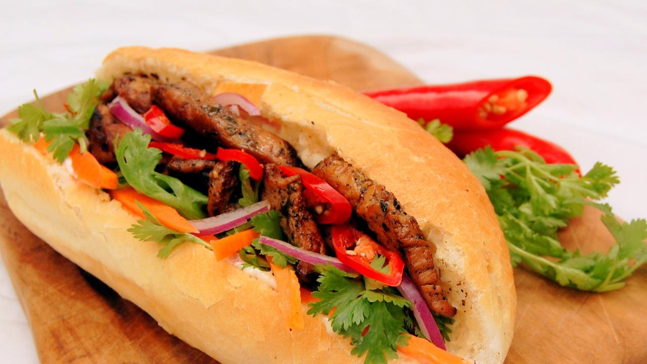 Banh Mi is a traditional Vietnamese sandwich.