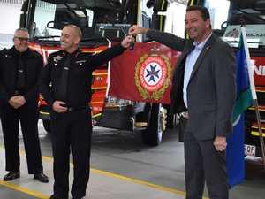 Mackay fire station celebrates double achievement