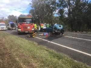 Woman pulled from wreck 'lucky to survive'