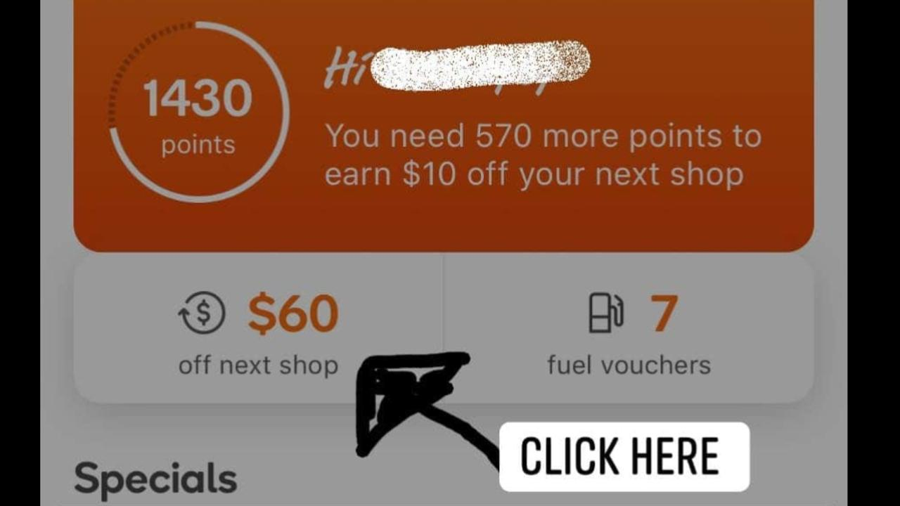 A bargain hunter has shared a Woolworths Rewards hack. Picture: Facebook