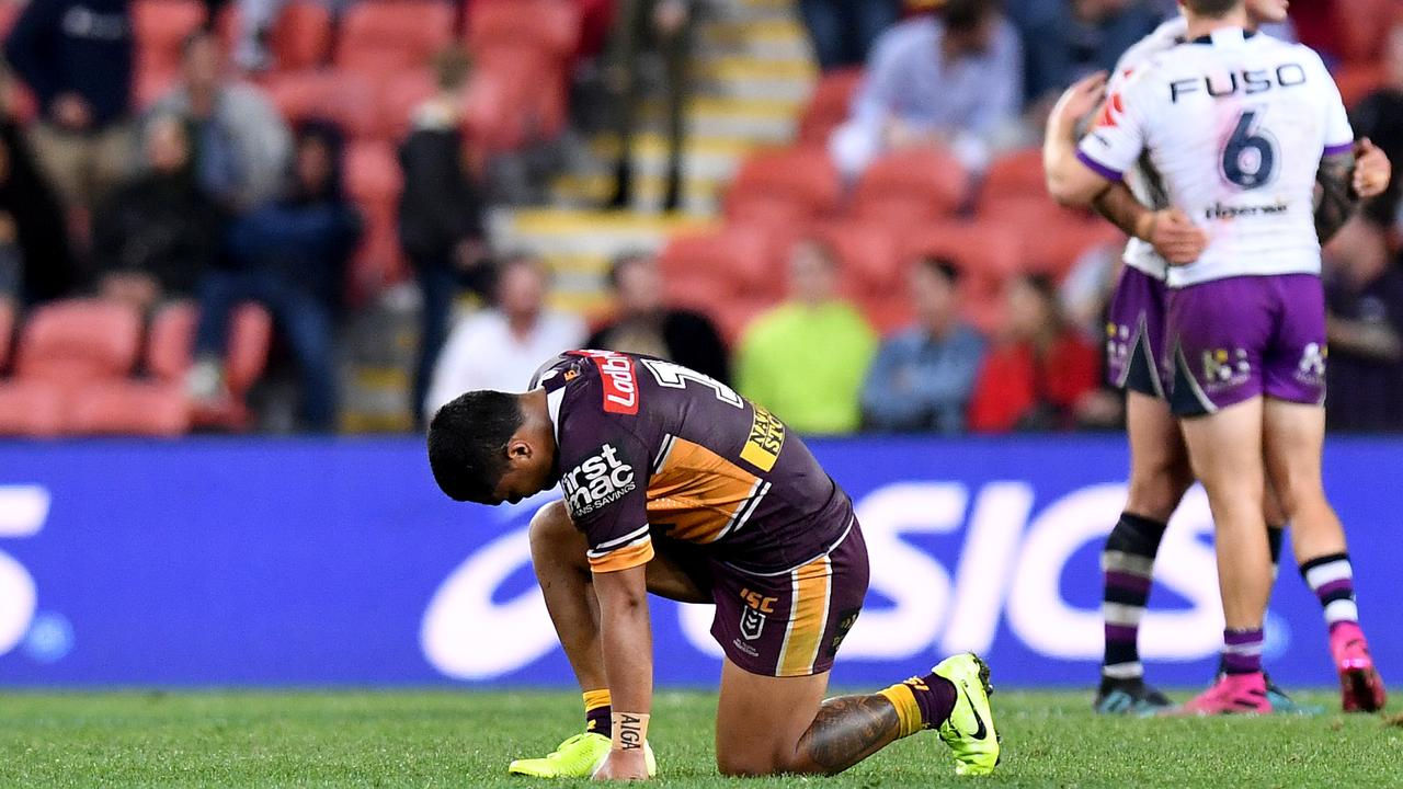 It's been a tough couple of season on the field for Anthony Milford.