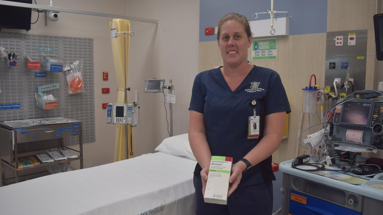 Clinical nurse consultant Vicky Grams said the new treatment would allow the first step of treatment to be delivered onsite, which was crucial in helping reduce the long-lasting impacts of stroke.