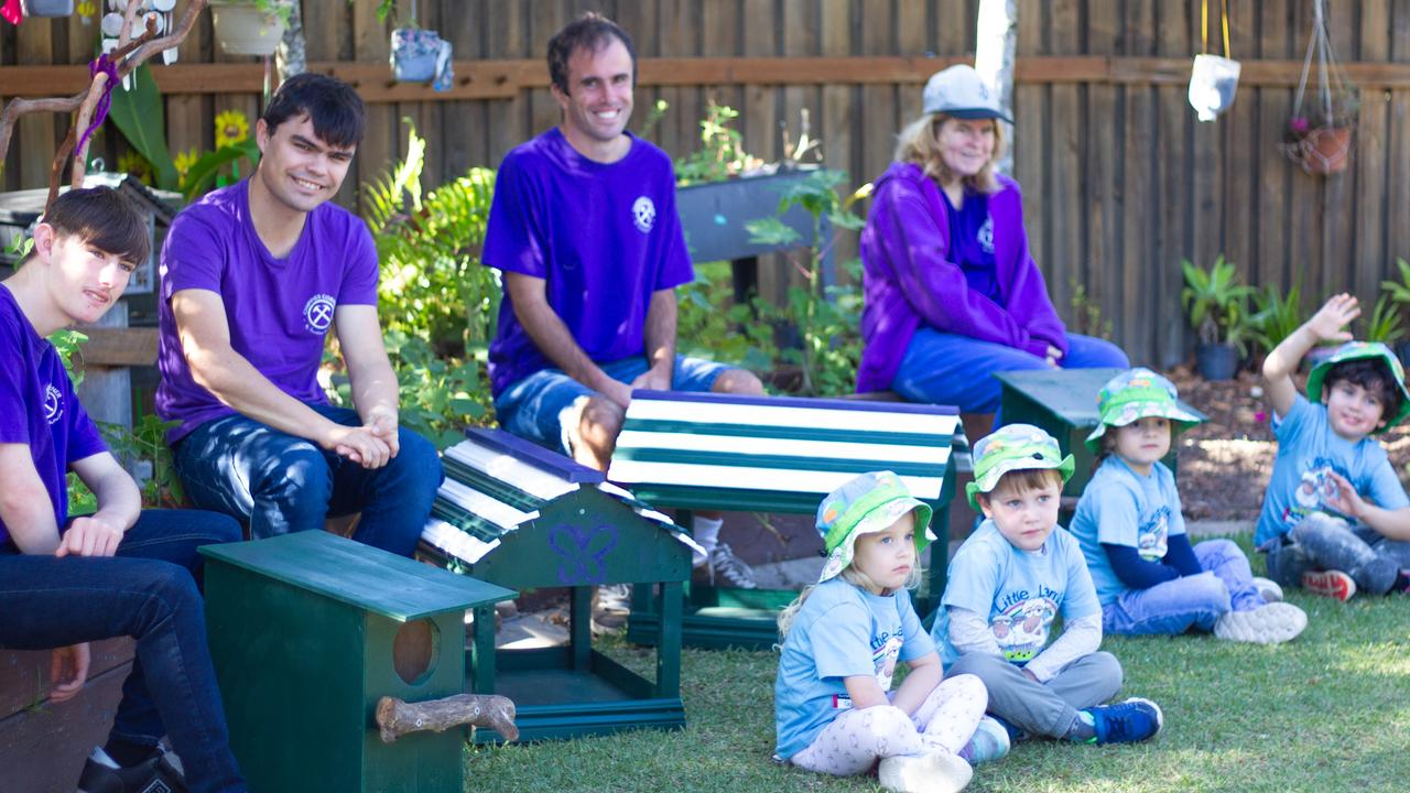 Possums boxes are helping give back to the community at Sunshine Butterflies.