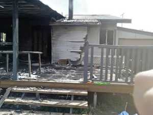 Community supports family after losing everything in fire